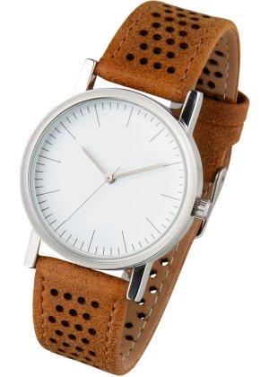 Bonprix Damen Armbanduhr mit Perforierung | 04897000550682