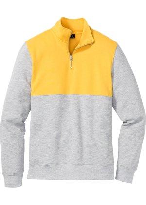 Bonprix Herren Sweatshirt mit Reißverschluss Regular Fit | 08698910199246