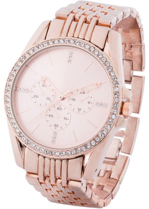 Bonprix Damen Uhr mit Swarovski® Kristallen | 04897081250594