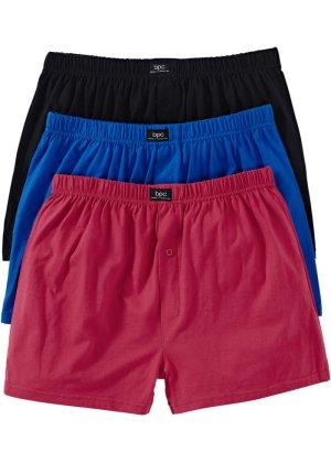 Bonprix Herren Lockere Jersey Boxershorts (3er-Pack)   08901145218621
