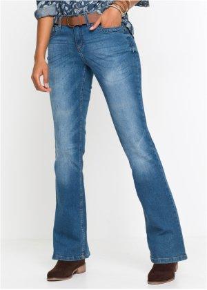 0c7927a02dba Stretch-Jeans im Bootcut mit G uuml rtel, John Baner JEANSWEAR