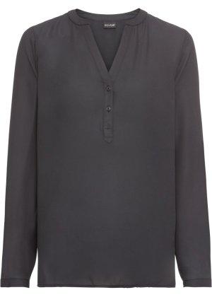 Bonprix Damen Transparente Bluse mit V-Ausschnitt | 08941102116539