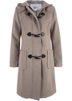 Bonprix Damen Woll-Mantel mit Kapuze | 06931545942392