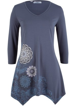 Bonprix Damen Zipfel-Shirt mit 3 4-Ärmeln | 08680738913647
