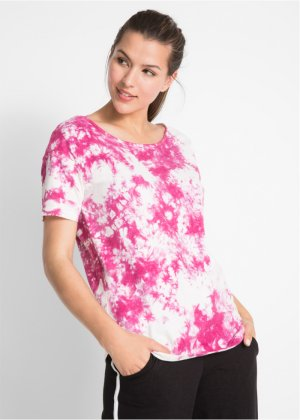 Kurzarm-Batik-T-Shirt, bpc bonprix collection