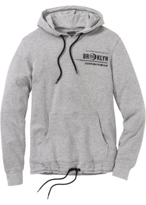 Bonprix Herren Winter-Sweatshirt mit Kapuze Slim Fit | 05902768987560
