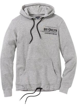 Bonprix Herren Winter-Sweatshirt mit Kapuze Slim Fit   05902768987560