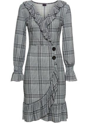 Bonprix Damen Wickelkleid mit Knöpfen   08941101250555