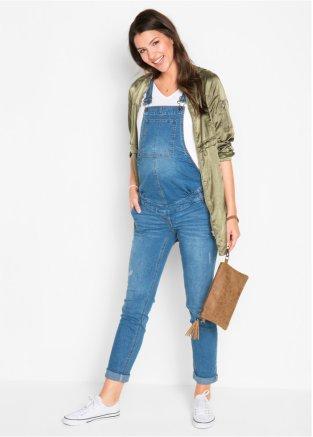 Umstandslatzhose Jeans, Straight  auch in Übergröße Gr. 36-54