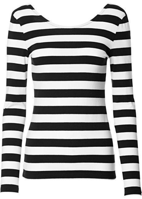 huge discount f19a3 58f13 Modisches Shirt mit Rückenausschnitt