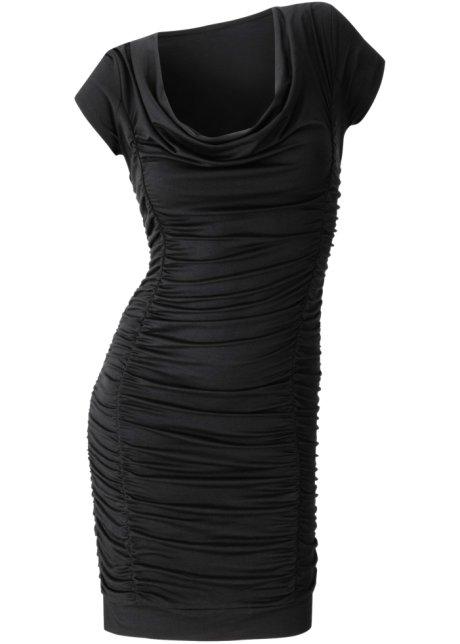Vestido preto drapeado comprar