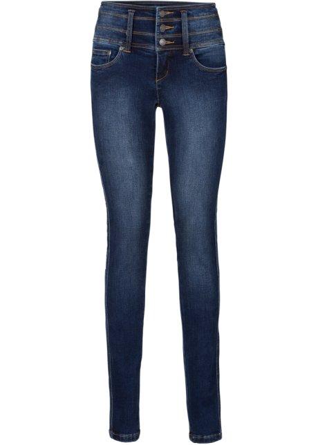 Power-Stretch-Jeans SLIM in blau für Damen von bonprix nylD8UBPJ