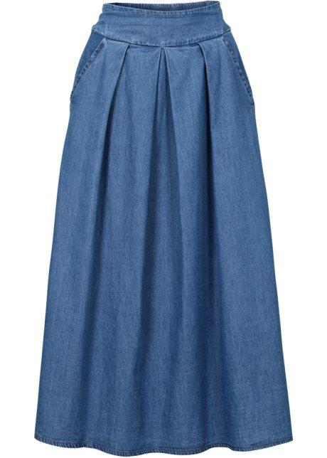Midi-Jeansrock blau - RAINBOW online kaufen - bonprix.de 93ff310d78