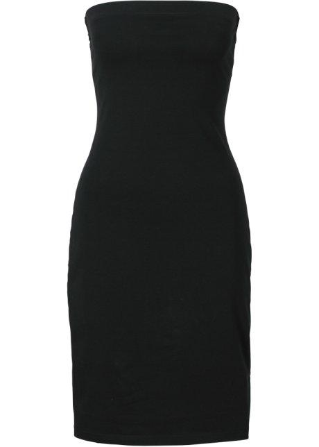 19fba233633 Attraktives Schlauchkleid ohne Ärmel - schwarz