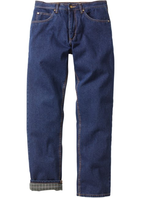gefütterte jeans herren