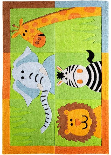 Kinderteppich tiere  Fröhlicher Kinderteppich