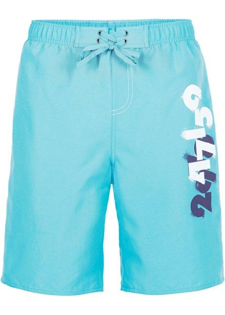 Shorts mit Bindeband in blau von bonprix Bonprix mNaZv
