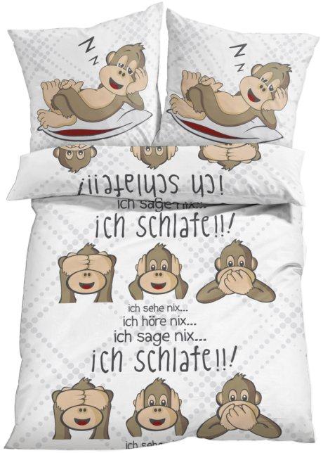 Witzige Bettwäsche Nicht Nur Für Das Kinderzimmer Geeignet Weiß