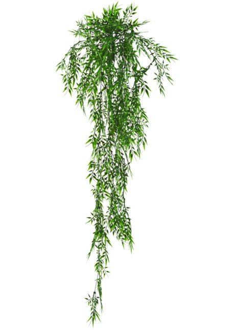 Gruner Blickfang Deko Kunstpflanze Bambus Grun
