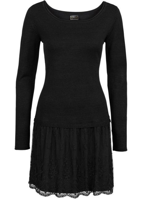 check out 7249a b6d01 Attraktives Kleid im 2-in-1-Look