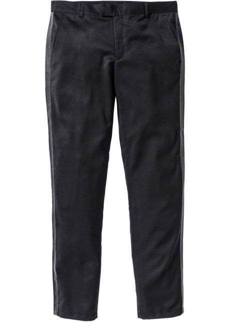 Stylishe Hose mit Seitenstreifen - schwarz 5f32a60c93