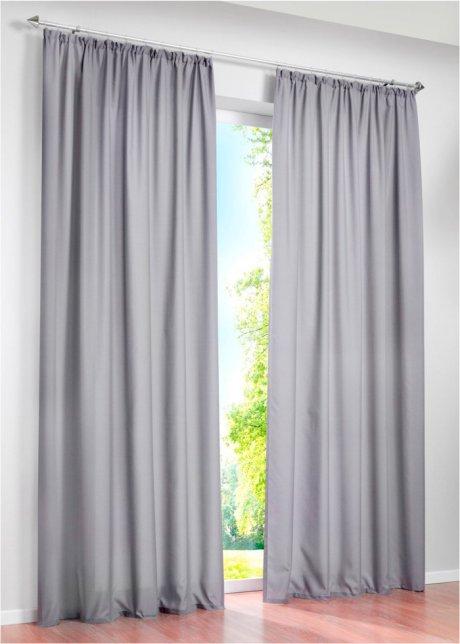 Einfach schön: Unifarbener Vorhang zur dezenten Gestaltung Ihres