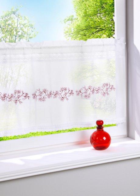 Stilvolle Landhaus Dekoration Fur Kuchenfenster Scheibengardine