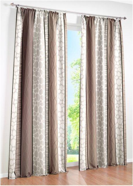 Schönes Und Zeitloses Design Mit Dem Bedruckten Vorhang Estelle