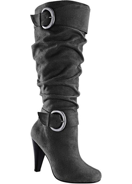 Stiefel in grau von bonprix Bodyflirt nJDWwo8H