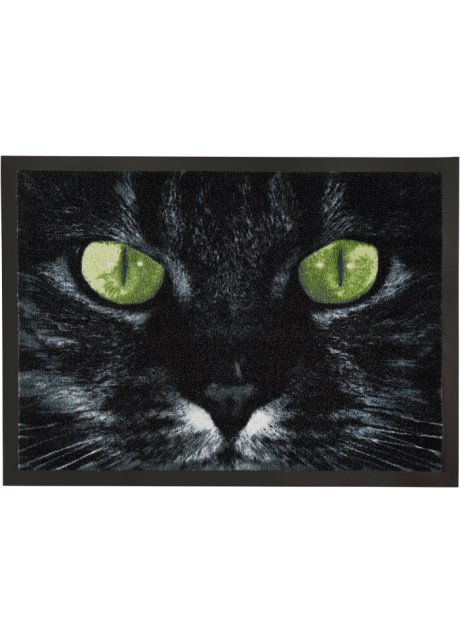 Blickfang Mit Mehrwert Fussmatte Mit Motiv Katze Schwarz