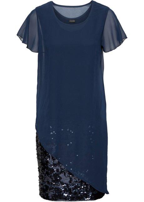 Cocktail-Kleid aus Jersey mit Pailletten, BODYFLIRT 968f91043b