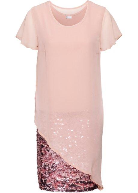 Schickes Kleid in Doppel-Lagen-Optik - vintagerosa