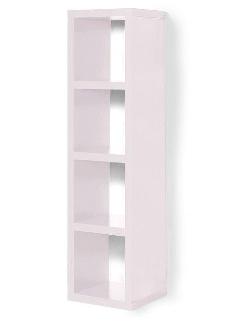 Regal MAIK Würfelsystem 4 Fächer Weiß | moebel