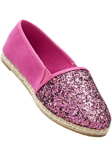 Espadrille in pink für Damen von bonprix n07jjw