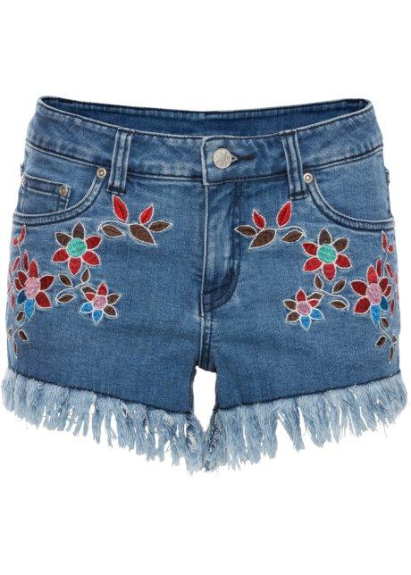 Neueste Online-Verkauf Geniue Händler Günstig Online Jeans-Hotpants in blau von bonprix Bonprix pkMuJdW