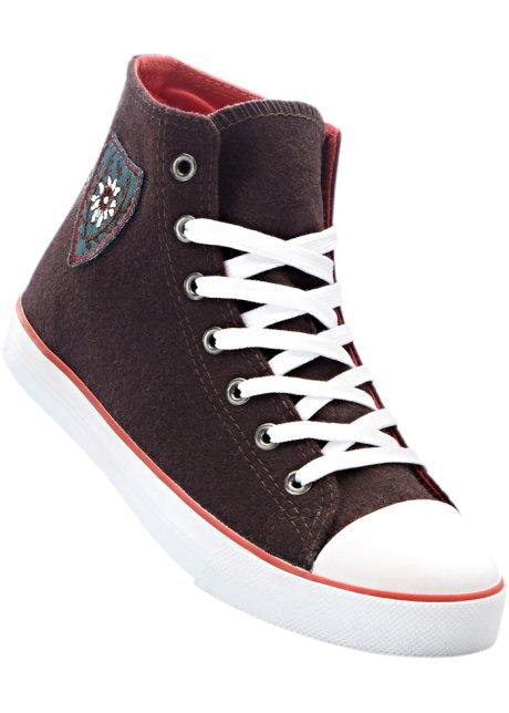 Sneaker High Top in schwarz für Damen von bonprix qtKQg