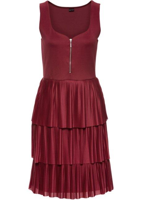 Kleid rotbraun