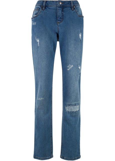 7/8-Girlfriend-Jeans - designt von Maite Kelly in grau für Damen von bonprix 6pAYuY
