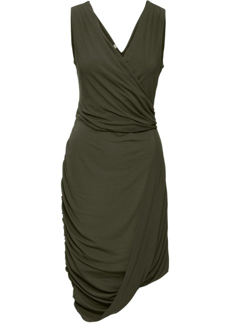 Kleid in oliv