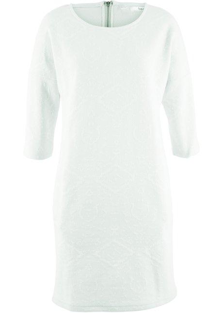 Sweat-Kleid, 3 4-Arm wollweiß pastellmint - Damen - bpc bonprix ... 789cf923ac