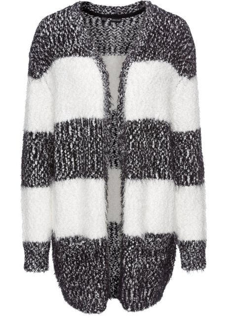competitive price 595e1 4347a Flauschige Strickjacke in Oversize-Form