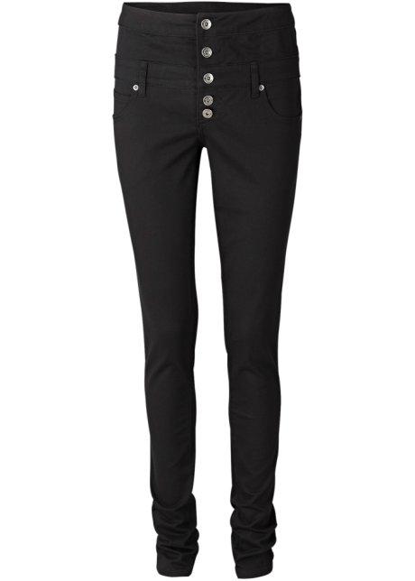 4e515cd3c57e High-Waist-Stretch-Hose im Skinny-Look