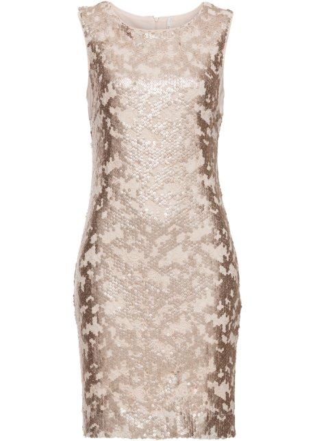 Kleid mit Pailletten gold - BODYFLIRT boutique online kaufen ...