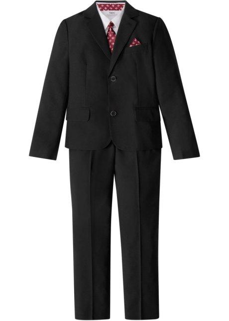 brand new e84dd 4923b Festliches vierteiliges Set bestehend aus Anzug, Hemd (Slim Fit) und  Krawatte