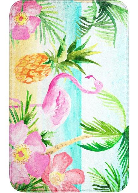 Fur Einen Exotischen Akzent Die Badematte Flamingo Mit Memory
