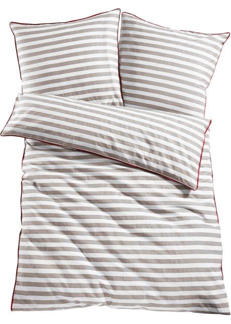 Bedruckte Bettwäsche Maritim Streifen Traumhaft Kuschelig