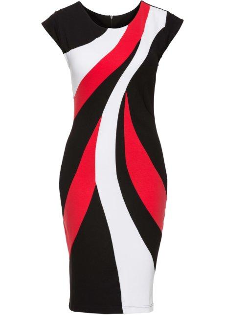 low priced 1a03a 37ba5 Schickes Kleid im Kontrast-Design