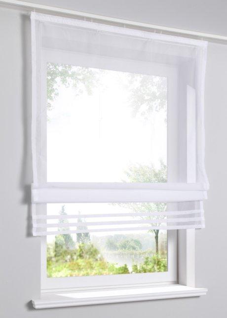 Eine hauchzarte Idee für Ihr Fenster: Das luftig-leichte Raffrollo ...