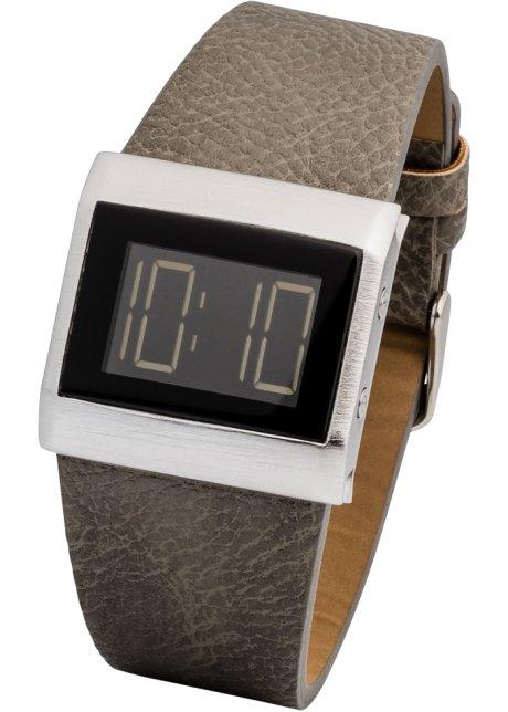 Uhr Mit Digitalanzeige Nudeschwarz Damen Bonprixde