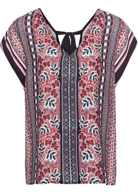 24f8eadccdf13f Zauberhafte Hippie-Bluse mit raffiniertem Detail auf der Rückseite ...